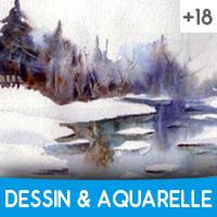 Cours Dessin aquarelle