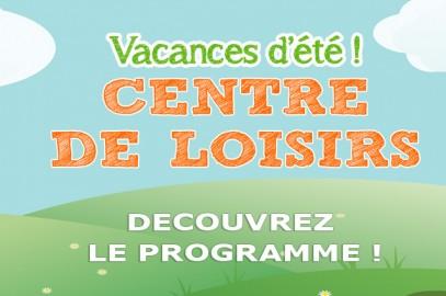 Programme Centre de Loisirs