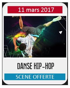 SCÈNE OFFERTE DANSE HIP HOP