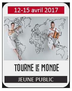 Spectacle Jeune Public : Tourne le monde