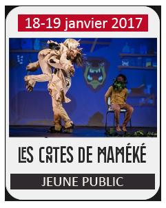 Spectacle Jeune Public – Les contes de Maméké, Le Voyage de Demba