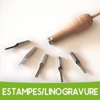 Estampes & linogravure