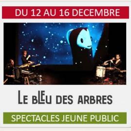 """Spectacle Jeune Public """"LE BLEU DES ARBRES"""""""
