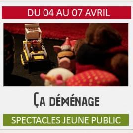 """Spectacle Jeune Public """"ÇA DÉMÉNAGE"""""""