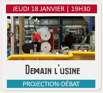 Projection-débat demain l'usine