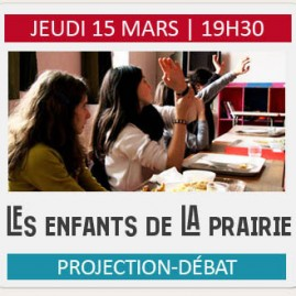 """Projection-débat """"LES ENFANTS DE LA PRAIRIE"""""""