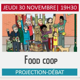 "Projection-débat ""FOOD COOP"""