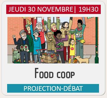 """Projection-débat """"FOOD COOP"""""""