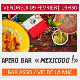 Apero bar « Mexique »