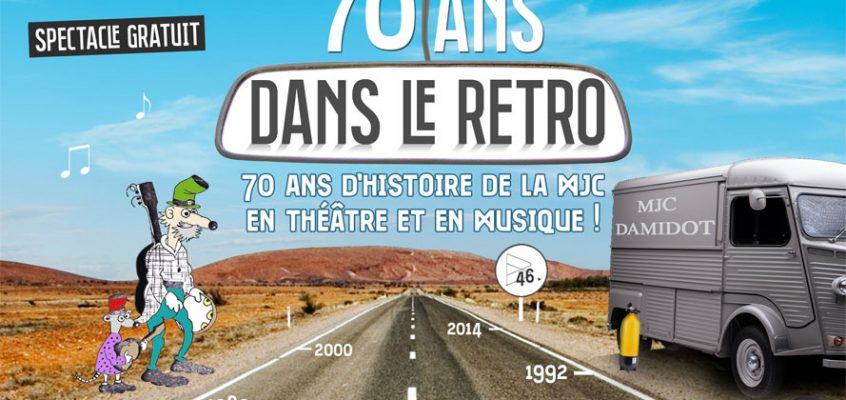 70 ans dans le retro